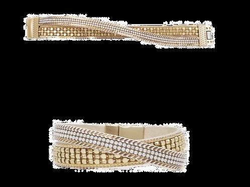 Gold Magnetic Bracelet