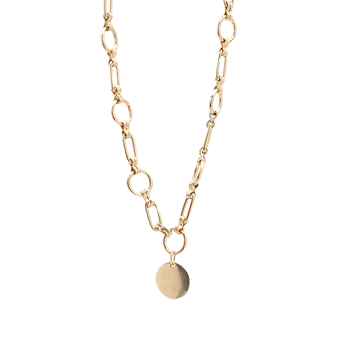 Chain Disc Necklace