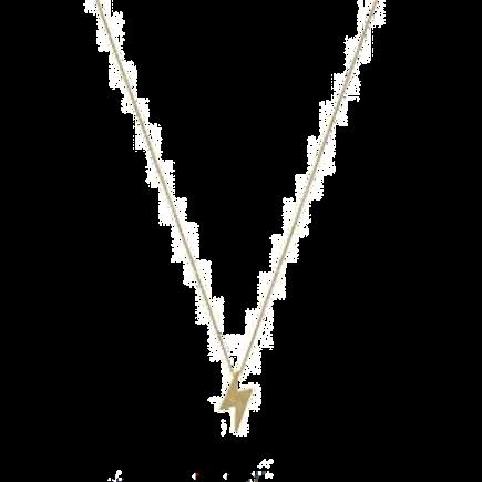 Bolt Charm Necklace