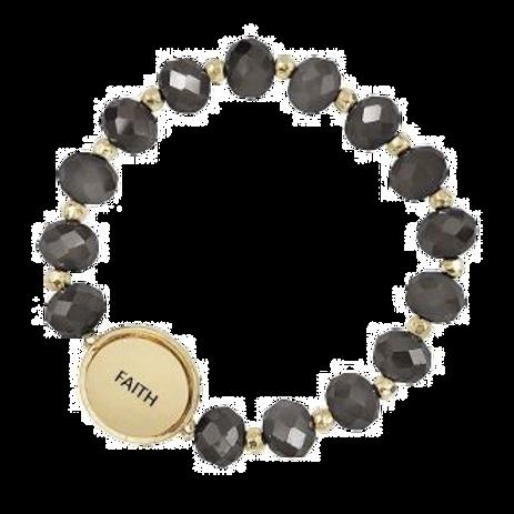 Beaded Faith Bracelet