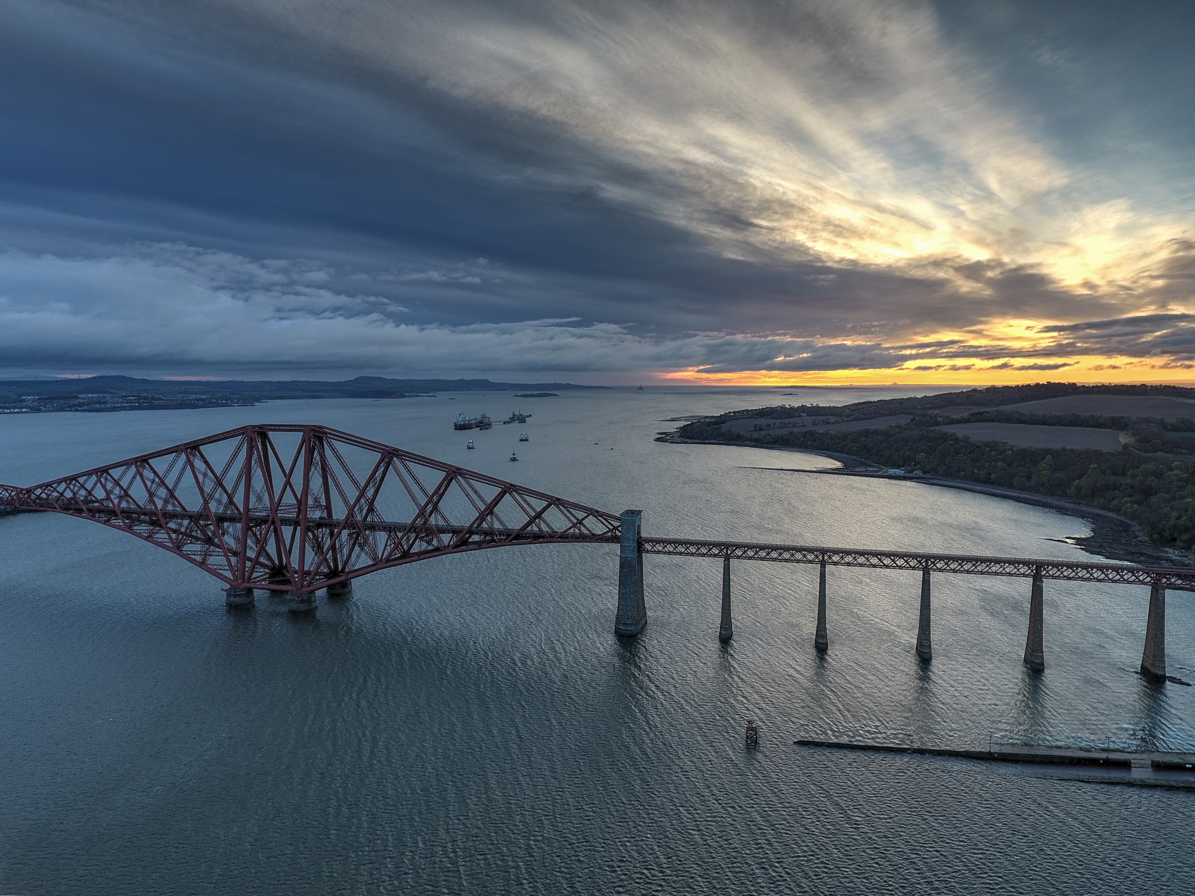 Forth Bridge _ South Queensferry 3