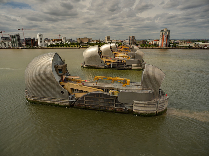 Thames Barrier - London's 24/7 Guardian against the sea