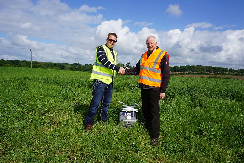 Ben Fowler who completed his ground school at the Birmingham venue for his drone training course with Flyby Technology. He now has completed his test flight and will finish off his Operations Manual before submitting it to the CAA for his Permission for Commercial Operations. Well done Ben.