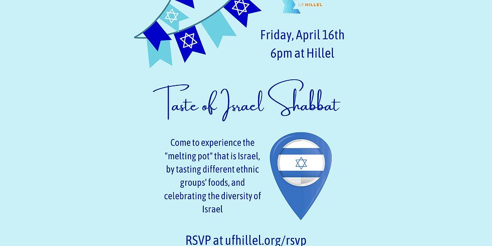 Israel Week: Taste of Israel Shabbat