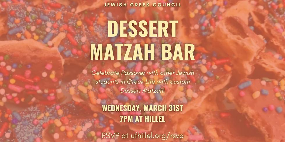 JGC Matzah Dessert Bar