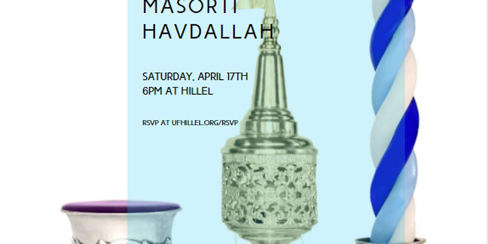 Masorti Havdallah