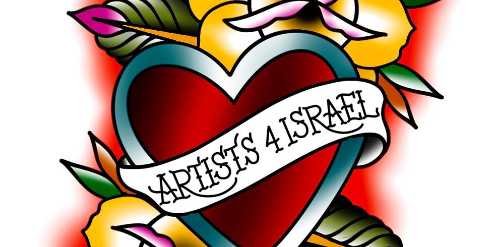 Artists for Israel Virtual Tattoo Workshop