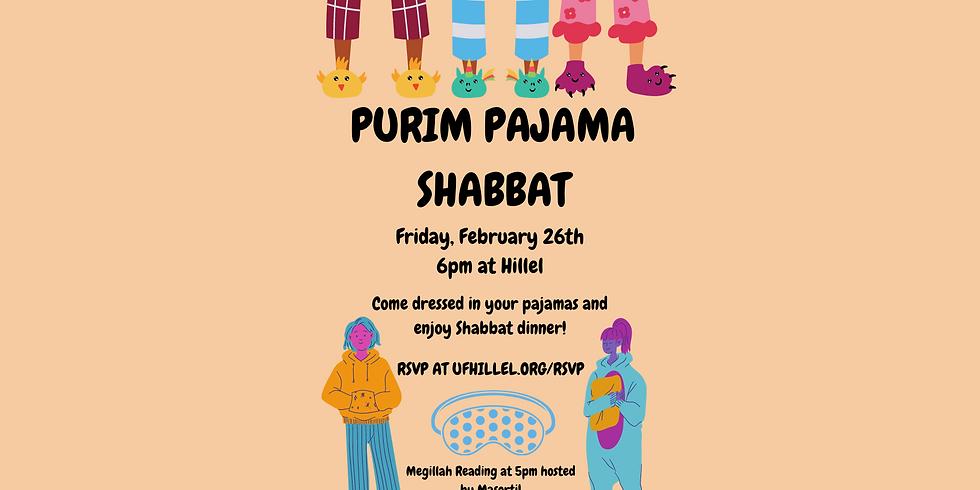 Purim Pajama Shabbat (Fri., 2/26, 6pm)