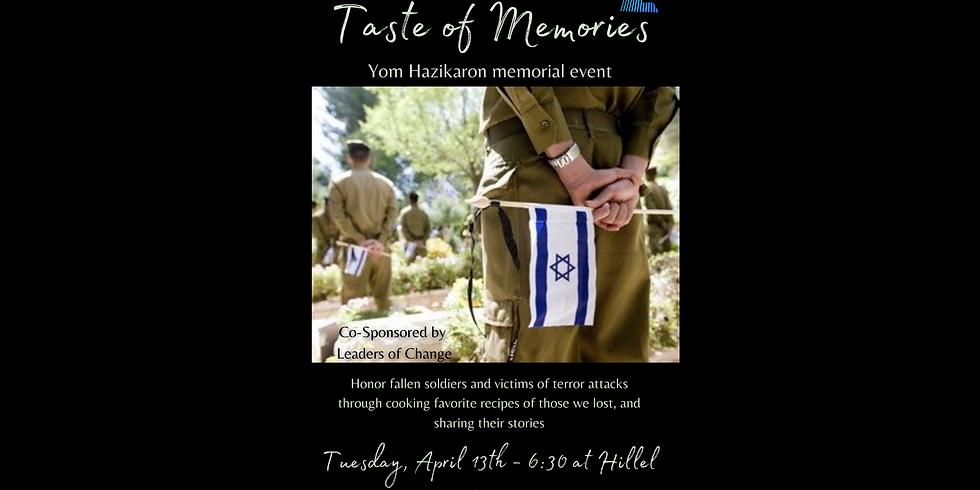 Israel Week: Taste of Memories