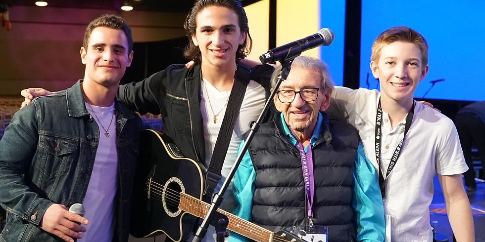 Israel Week: Holocaust Survivor Saul Dreier and the Dor v Dor Band