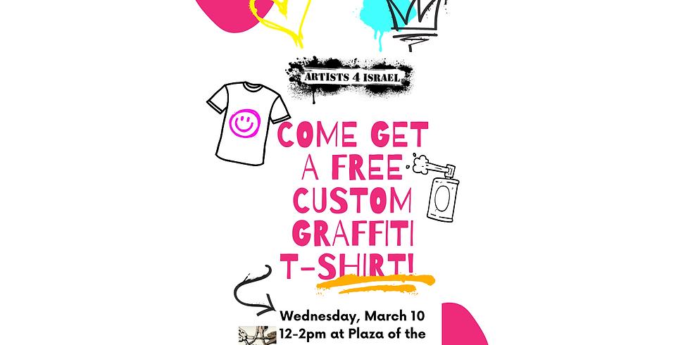 Graffiti T-Shirt Event (Wed., 3/10, 12pm)