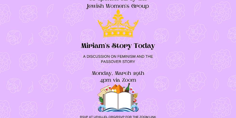 Miriam's Story Today