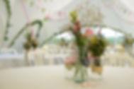 Medow flowers table setting