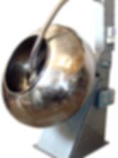 SS Revolving coating pan