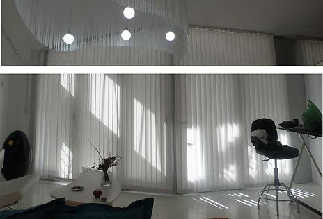 Diseño de lampara y mesa