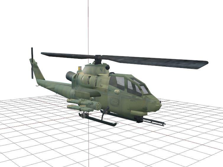 AH-1F Cobra: Oxygen 2