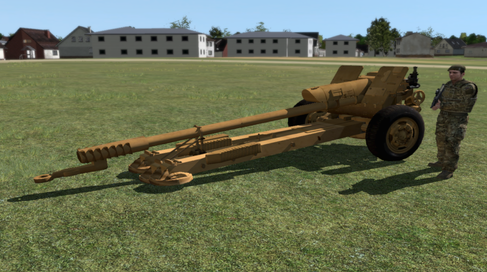 D-30 122mm Howitzer: VBS3