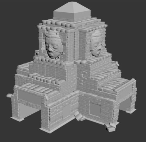 How-poly temple