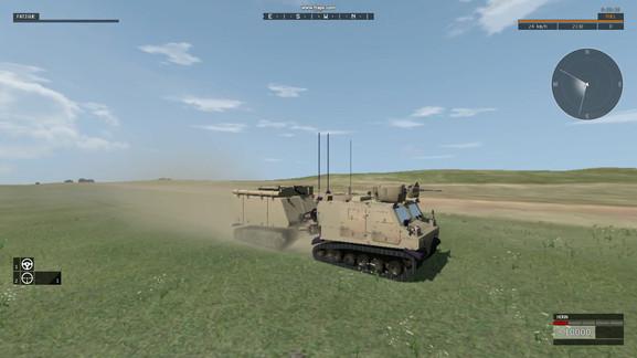Warthog VBS3: Animation