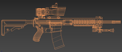 3ds Max wireframe
