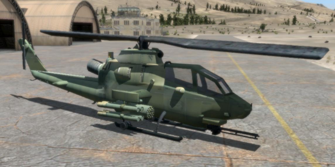 AH-1F Cobra: VBS3