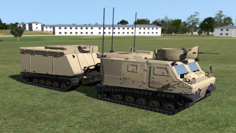 Warthog VBS3: Front