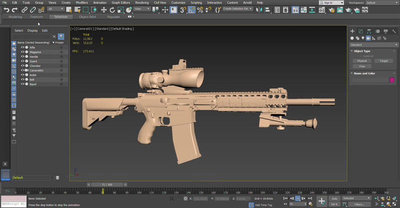 3ds Max animation