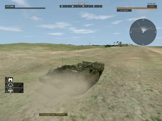 S-Tank VBS3: Animation