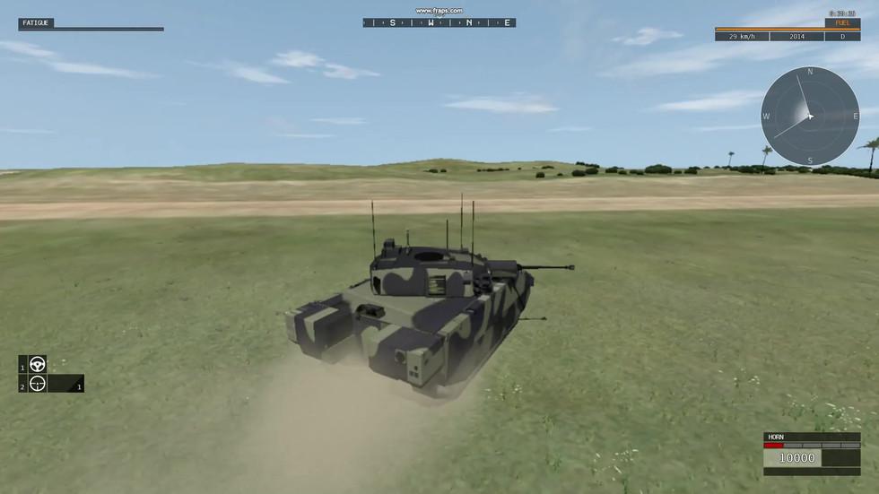 Ajax VBS3: Animation