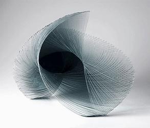 Ocean inspired decorative art sculpture