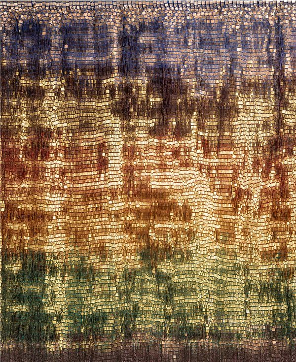Woven wall art contemporary textile art for interiors