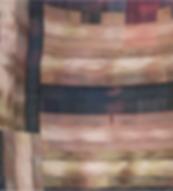 Modern textile art woven contemporary patterns
