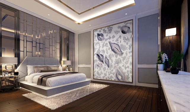 Laurine Malengreau mural wall art for bedroom