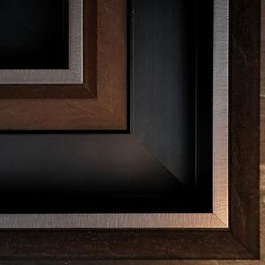 Luxury custom canvas floater tray frames