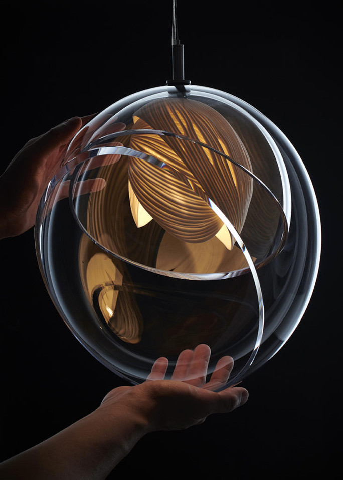 Vezzini & Chen custom art lighting for interiors