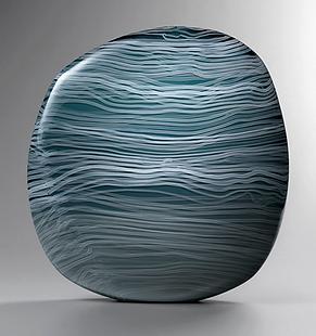 Ocean inspired art sculpture for interiors