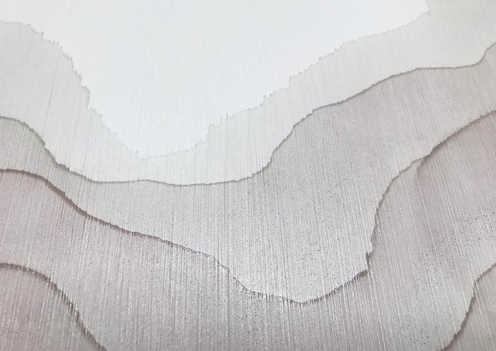Tobias Tovera custom feature wall art