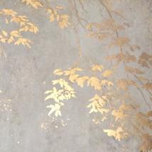 Gold Leaf & Watercolour