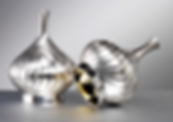silver decorative vases art for interiors