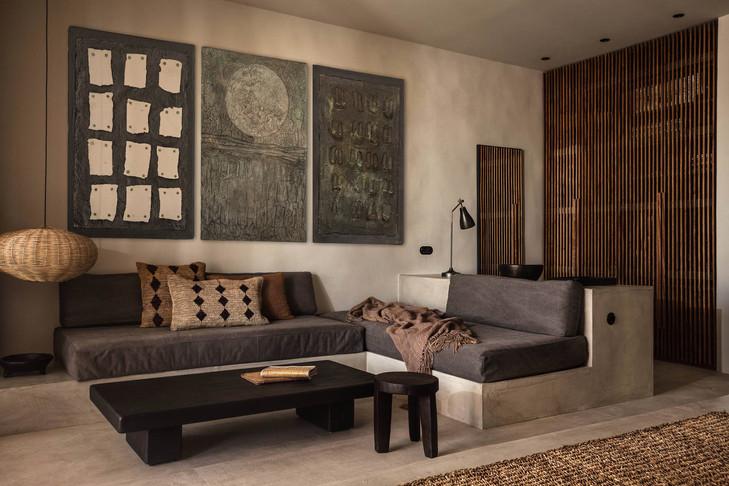 Ceramic wall art for interior design