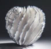 Seashell inspired contemporary sculpture art