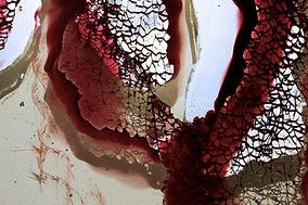 Glass wall art