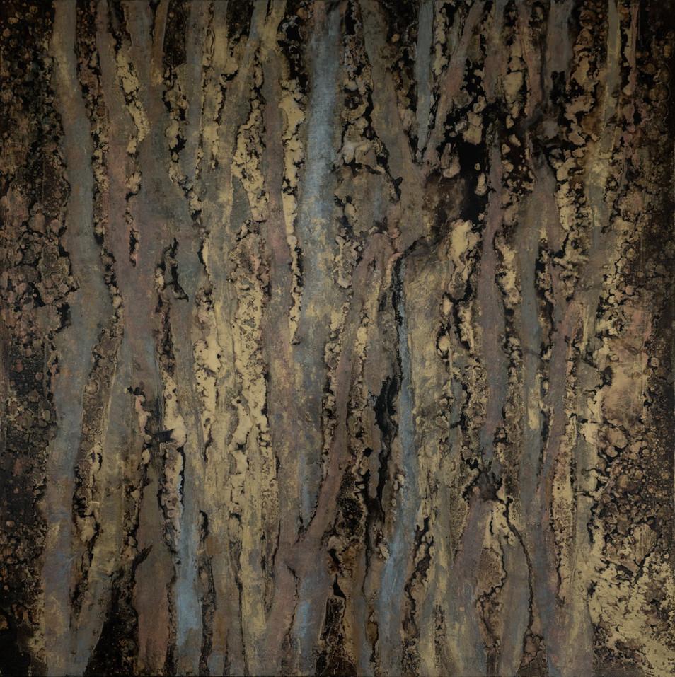 Michelle Gagliano custom feature wall art