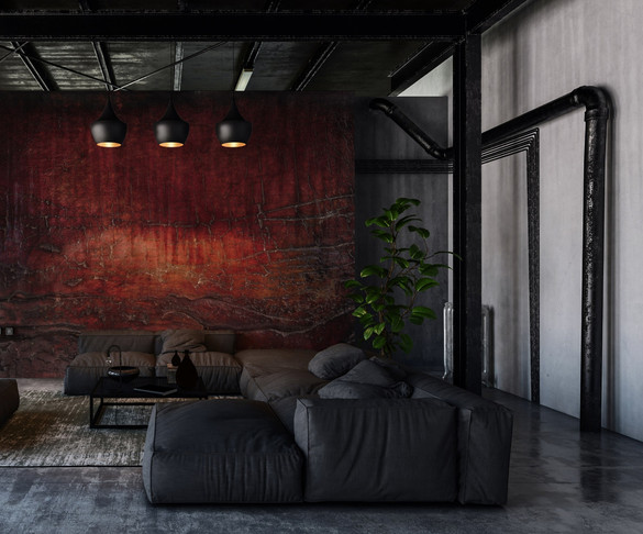 Peter Hayes mural wall art for living room