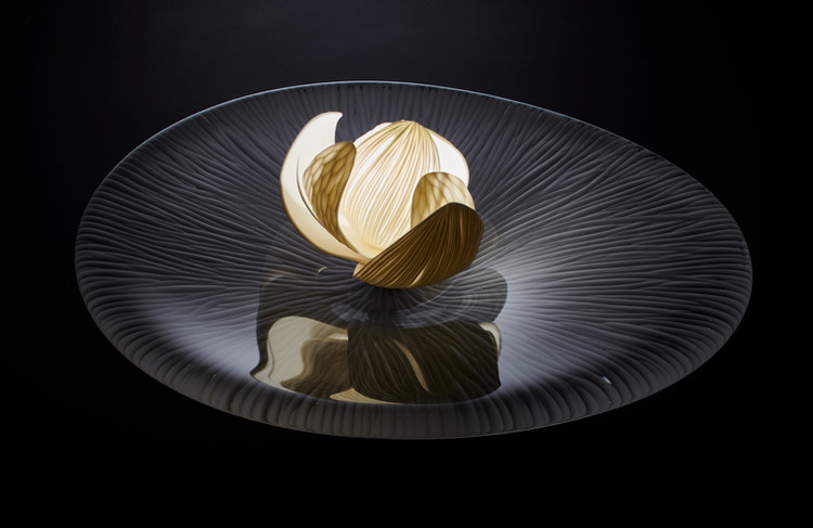 Vezzini & Chen glass sculpture art commission