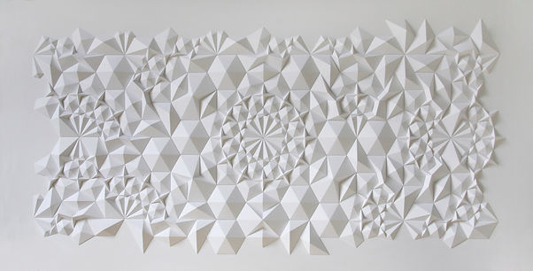 middle eastern geometric pattern wall sculpture contemporary art