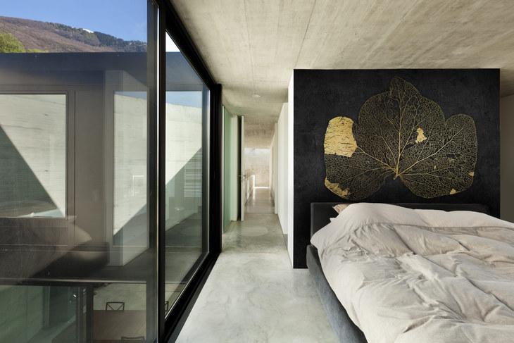 Ewan David Eason feature wall art for bedroom