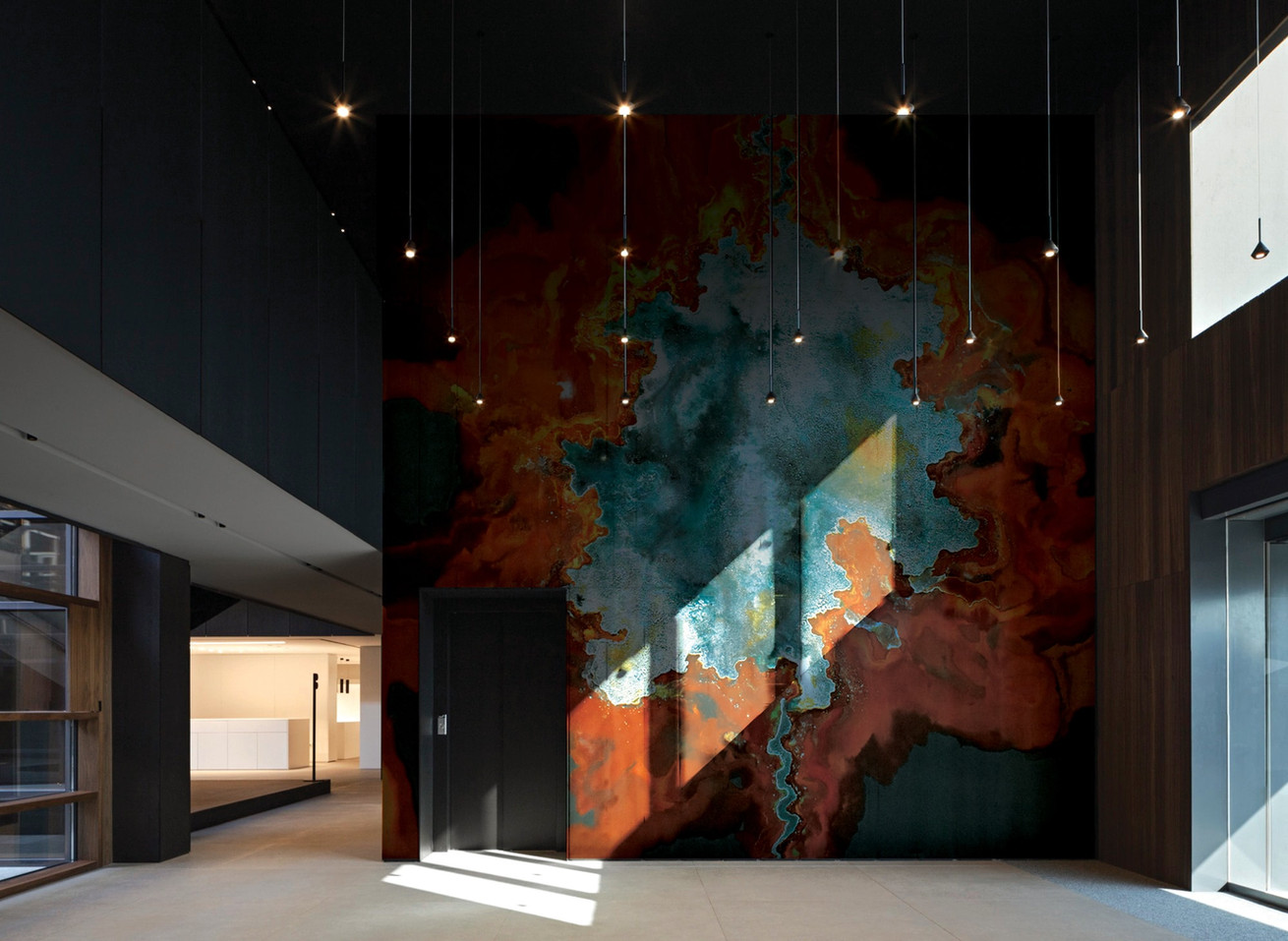 Tobias Tovera feature wall art for interior