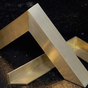 luxury metal custom frame
