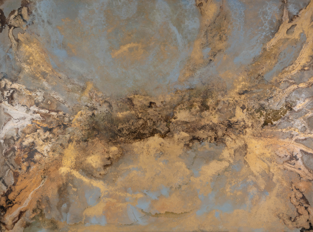 Michelle Gagliano custom abstract painting
